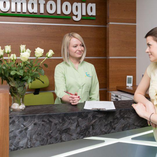 Centrum dentystyczne Promedica w Będzinie - wnętrza
