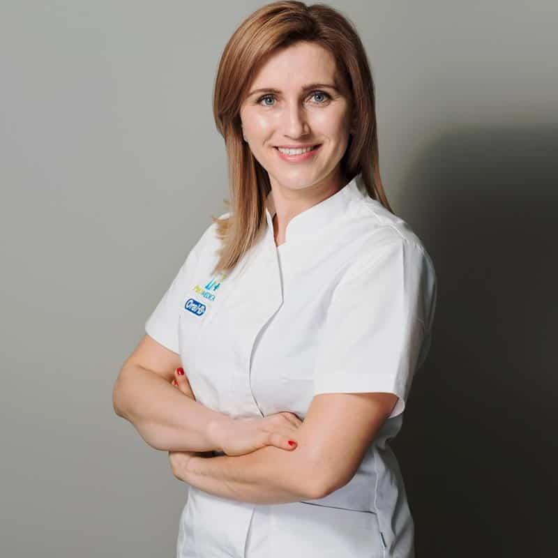 Stomatolog dr Joanna Markiewicz